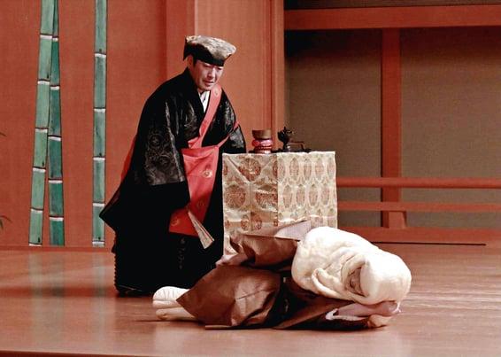 深田先生 舞台写真