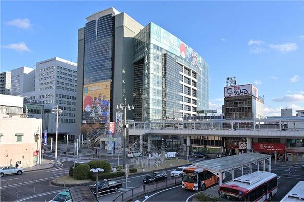 名鉄:豊田市駅より直結で大変便利な立地です。