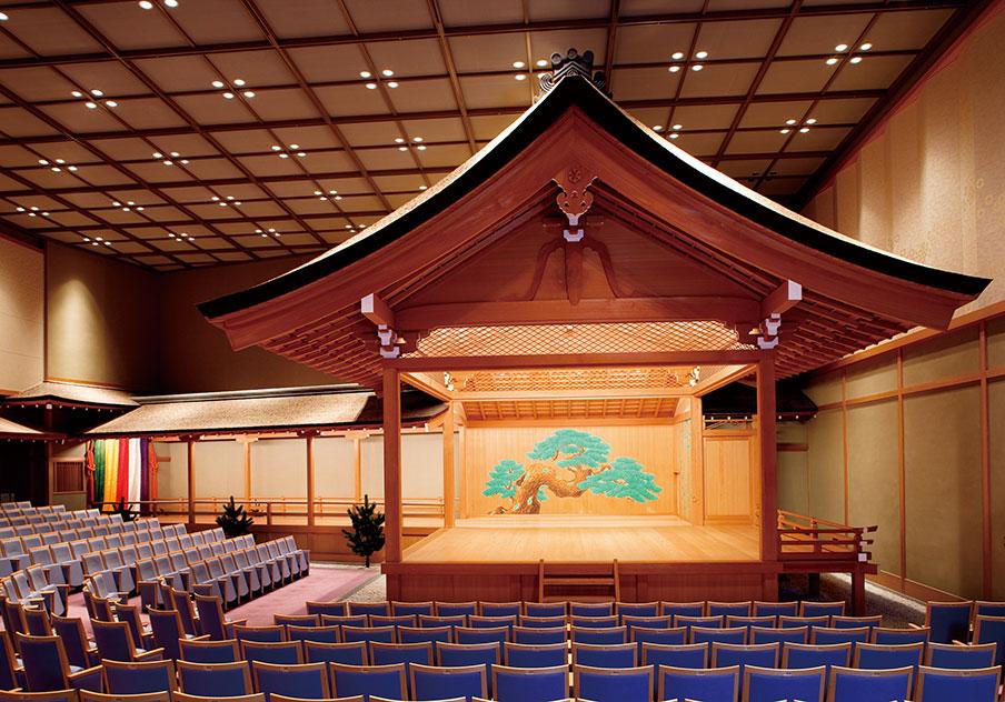 奈良春日野国際フォーラム 甍~I・RA・KA~ 能楽堂