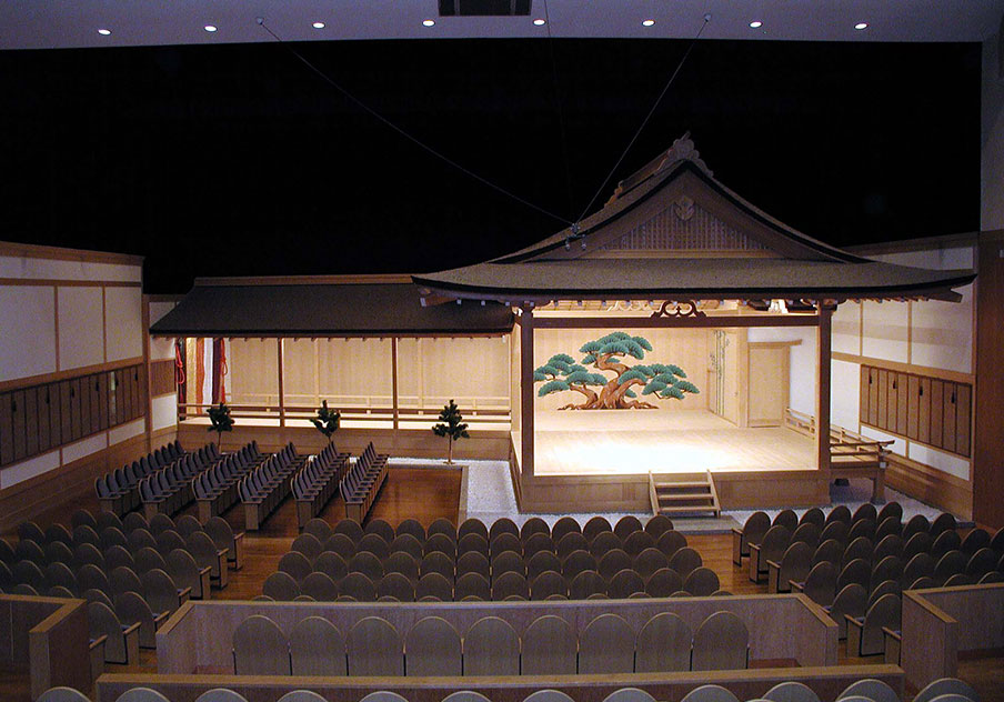 高知県立美術館 能楽堂